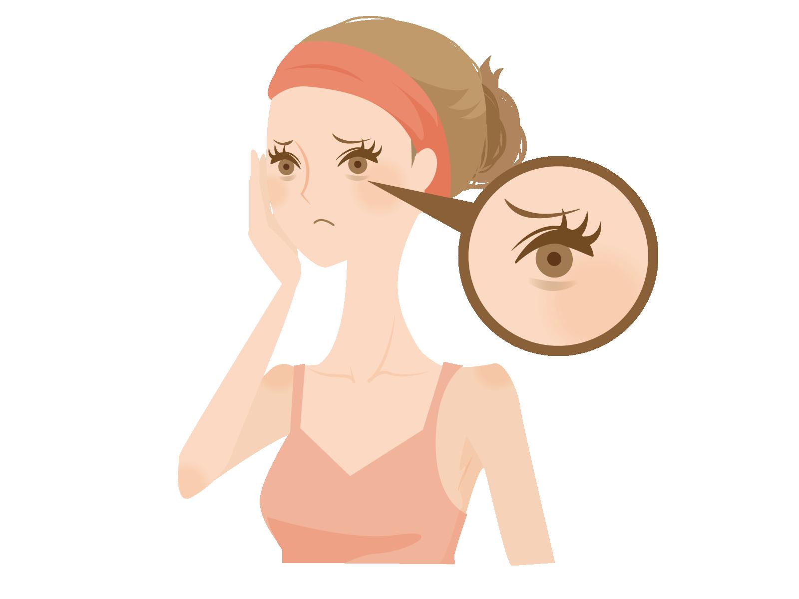 目元の疲れを解消する方法